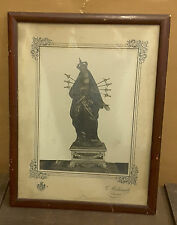 Fotografia (con cornice e vetro) Madonna addolorata 2^metà '800