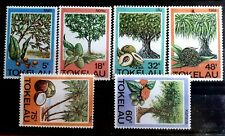 1985 Full Set Of 6 Tokelau Islands Stamps - Native Trees - MNH