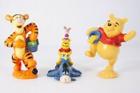 Lot 3 Disney Winnie the Pooh Tigger Eeyore PVC Figures Cake Toppers