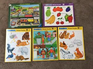 Puzzle Patch And Ravensburger Frame-tray Puzzles