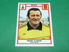 PIERRE FLAMION STADE REIMS DELAUNE RECUPERATION PANINI FOOTBALL 76 1975-1976