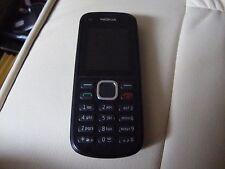 NOKIA C1-02 - NERO (EE/Virgin Mobile telefono cellulare bloccato)