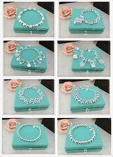 925 stamped silver bracelet women girls nice gift
