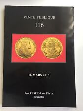JEAN ELSEN COIN AUCTION CATALOG VENTE PUBLIQUE 116 MARC 2013 ANCIENT WORLD MEDAL