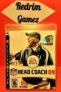 NFL Head Coach 09 PS3 Video Games