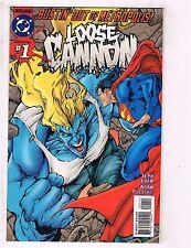 Loose Cannon Complete DC Comics Ltd. Series # 1 2 3 4 Superman Batman Flash J104