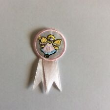 NEW BULK 50 EMBROIDERY Iron on ANGEL Fairy Badge patch Christmas Girls pack