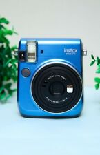 Fujifilm Instax Mini 70 Instant Polaroid Camera Blue