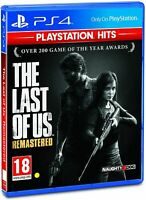 The Last of Us Remastered PlayStation Hits (PS4) - Brand New Gift Idea - CLASSIC