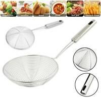 Kitchen Strainer Skimmer Cookware Basket Stainless Steel Frying Pasta Ladle Mesh