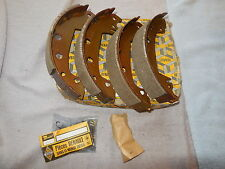 Renault 18 GTX & Turbo Brake Shoes Bendix New Genuine 7701201381