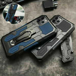 Shockproof Hybrid Armor Case with stand For iPhone 12 11 Pro Max XR 8 7 SE Cover