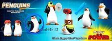 2014 McDonalds Penguins of Madagascar MIP Complete Set of 6, Boys & Girls, 3+