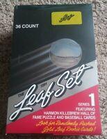 1991 LEAF BASEBALL SET SERIES 1 FACTORY SEALED BOX 36 PACKS