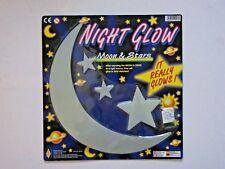 Brilla en la Oscuridad Luna Extra Grande Tamaño Aproximado 29cm Plus Estrellas -