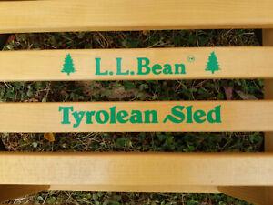 LL Bean Vintage Tyrolean Sled