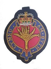 Welsh Guards Military Blazer Badge Wire Bullion Badge