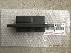 FITS: 08 - 14 SCION XD HATCHBACK TRUNK LID OPENER LIFTGATE RELEASE SWITCH NEW