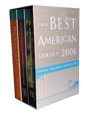 The Best American Series 2006 - Gold Gift Box: Three-Volume Boxed Set, , New Boo