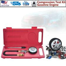 Automotive Test Kit Gasoline Engine Compression Tester Auto Petrol Gas Cylinder