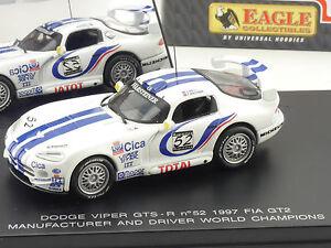 Universal Hobbies 3704 Dodge Viper GTS Fia 1997 Eagle 1:43 OVP 1602-20-14