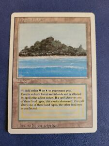 Tropical Island MTG Card - Revised Edition - Dual Land - Magic The Gathering