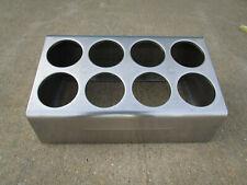 Steril-Sil Stainless Steel Countertop Flatware Dispenser 8 hole silverware