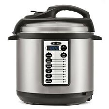 BELLA (14467) 10-In-1 Multi-Use Programmable 6 Quart Pressure Cooker, Slow Co...