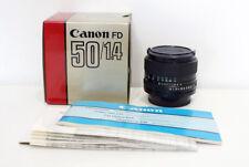 [MINT] Canon new FD 50mm 1.4 + BOX (A7, micro 4/3, MFT) - #2943653