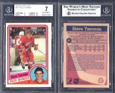 BGS 7 1984-85 O-Pee-Chee OPC #67 Steve Yzerman RC Red Wings G00 2017