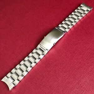 20mm Replacement Stainless Steel Watch Bracelet For Omega Speedmaster Moonwatch