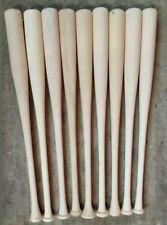 """10 32"""" Wood Baseball bats Maple"""