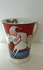 Christmas Mug Ursula Dodge  Signature Housewares  Rocking Horse Decorated Tree
