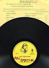 REO SPEEDWAGON LP VINYL 1982 SPECIAL BBC ROCK HOUR #303 FREE U.S. SHIPPING