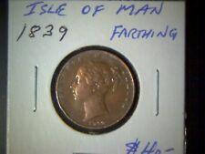 Isle Of Man 1839 Farthing