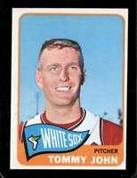 1965 TOPPS #208 TOMMY JOHN EX WHITE SOX *XR27853