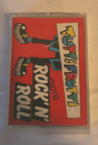 TuttiFrutti More Rock n Roll Cassette Tape