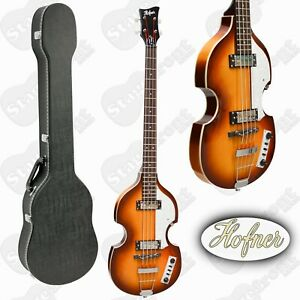 HOFNER BEATLE BASS ELECTRIC HOLLOW BODY IGNITION SERIES WITH CASE