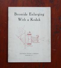 BROMIDE ENLARGING WITH A KODAK INSTRUCTION BOOK, 1906/cks/211736