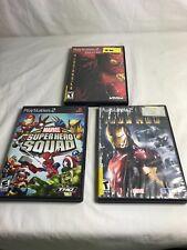 PlayStation 2 - Video Game - SIPDER-MAN 2, IRON MAN, MARVEL SUPER HERO SQUAD