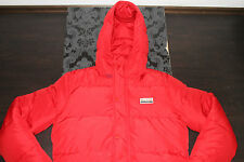 Top Hollister Men's down Jacket Red SIZE S NEW with LABEL
