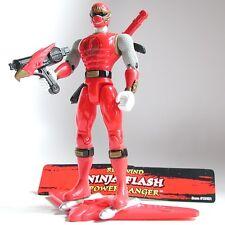 2003 PRNS Red Wind Ninja Storm Flash Power Ranger COMPLETE