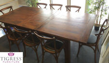 Solid Wood Dining Room Furniture Sets with 9 Pieces