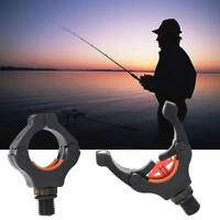 Black Magnet Fishing Rod Pod Grip Stand Rack Holder Head Rest Bracket Head New