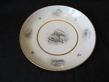 """ROYAL WORCESTER,FLIGHT BARR  SHALLOW 8 """" PLATE SHELL PATTERN c 1807 GOOD CON"""