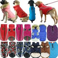 Winter Waterproof Pet Dog Puppy Vest Jacket Dogs Clothes Outdoor Warm Rain Coat