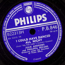 """JULIE ANDREWS & PHILIPPA BEVANS """"MY FAIR LADY"""" -SOUNDTRACK- I could have...S6999"""