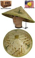 Chinese Oriental Vietnamese Farmer Cone Garden Fishing Bamboo Cap Hat