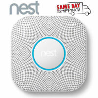 Nest - Protect 2nd Generation Smart Smoke/Carbon Monoxide Wired Alarm - White