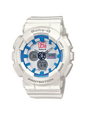 Casio Baby-g reloj ba-120-7ber analogico, digital blanco